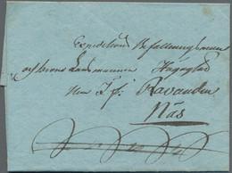 Finnland - Alandinseln: 1811 Folded Meander Letter From Berg (Strömvig) To Nääs, Dated Inside 'Berg, - Ålandinseln