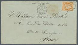 Französische Kolonien - Allgemeine Ausgabe: 1877, Céres 40c. Orange Fresh Colour And Close To Good M - Ohne Zuordnung