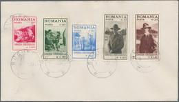 Rumänien: 1931. Complete Set 'Scouting Exhibition' (5 Values) On FDC Cover '8.VI.31'. - Cartas