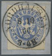 Preußen - Marken Und Briefe: 1861, Wappenausgabe, Ausgesuchtes Qualitätslos Von Insgesamt Zwölf Wert - Preussen