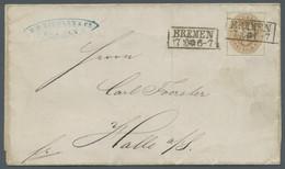 Preußen - Marken Und Briefe: 1861, Wappenausgabe, Ausgesuchtes Qualitätslos Von Sechs Briefen, U.a. - Preussen