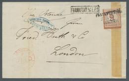 Deutsches Reich - Brustschild: 1874, Großer Brustschild, 9 Auf 9 Kreuzer Braunorange, Einzelfrankatu - Briefe U. Dokumente