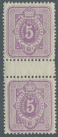 Deutsches Reich - Pfennig: 1880, 5 Pfennig Als Früh- Und Spätauflage, Jeweils In Tadellos Postfrisch - Ungebraucht