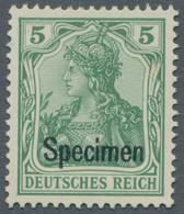 Deutsches Reich - Germania: 1902, Deutsches Reich Ohne Wasserzeichen, Der Komplette Satz Ungebraucht - Ungebraucht