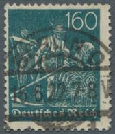"""Deutsches Reich - Inflation: 1922, Schnitter, 160 Pfg. Mit Wz. 2, Sauber Zentral Gestempelt """"Berlin - Gebraucht"""