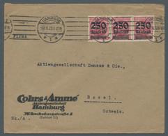 Deutsches Reich - Inflation: 1923, Freimarke 250 Tausend Auf 500 Mark Hell- Bis Mittellilarot Im Waa - Ohne Zuordnung