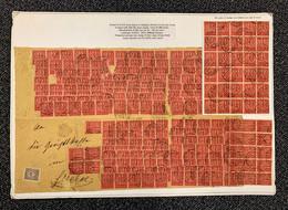 Deutsches Reich - Dienstmarken: 1922, Dienstmarke 100 Mark Lilarot Auf Mittelrötlichkarmin Entwertet - Dienstpost
