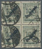 """Deutsches Reich - Dienstmarken: 1923, Schlangenaufdruck """"Dienstmarke"""", 100 Millionen Gestempelt """"Kal - Dienstpost"""