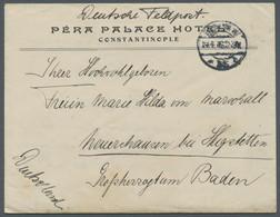 """Deutsche Post In Der Türkei: 1916, Brief Eines Mitglieds Der """"Sondermission Persien"""" (Stab Von Der G - Deutsche Post In Der Türkei"""
