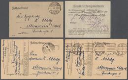 """Deutsche Post In Der Türkei - Stempel: 1918-1919, """"FELDPOST MARDIN 1 XI 1918"""", Sehr Seltener Stempel - Deutsche Post In Der Türkei"""