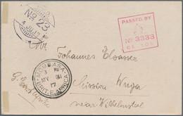 Deutsch-Ostafrika - Besonderheiten: 1917 (8.2.), Vordruckkarte Des Deutsch-Ostafrikaners Paul Rorari - Kolonie: Deutsch-Ostafrika