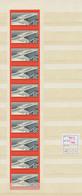DDR: 1960, 125 Jahre Deutsche Eisenbahn, 20 Pfg. Ungezähnt Im Originalen Zehnerstreifen, Tadellos Po - Ungebraucht