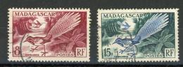 MADAGASCAR (RF) - OISEAU - N° Yvert 323+324 Obli. - Used Stamps