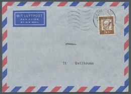 Bundesrepublik Deutschland: 1962, Postamtliche Versuche Im Posttechnischen Zentralamt Darmstadt, Dre - Briefe U. Dokumente