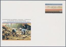 """Bundesrepublik - Ganzsachen: 1991, Sonderpostkarte Zum 92. Philatelistentag Mit Werteindruck """"60 Pf. - Ohne Zuordnung"""
