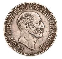 """Hannover: 1848, """"Ernst August"""" 1 Thaler In Sehr Schöner Erhaltung. - Ohne Zuordnung"""