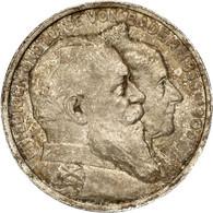 """Baden: 1906, """"Friedrich I."""" 2 Und 5 Mark (Jaeger Nr. 34 Und 35) Zur Goldenen Hochzeit Des Großherzog - Taler & Doppeltaler"""