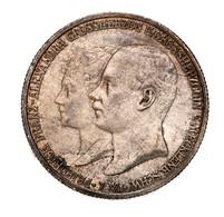 """Mecklenburg-Schwerin: 1904, """"Friedrich Franz IV."""" 2 Mark-Gedenkmünze Zur Hochzeit Des Großherzogs Mi - Taler & Doppeltaler"""