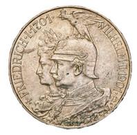 """Preußen: 1901, """"Wilhelm II."""" 2 Und 5 Mark-Gedenkmünze Zum 200jährigem Bestehen Des Königreiches (Jae - Taler & Doppeltaler"""