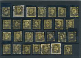 Preußen - Marken Und Briefe: 1850, Partie Von 56 Stück Der Mi.Nr. 4 Mit Ausschließlich Nur Verschied - Preussen
