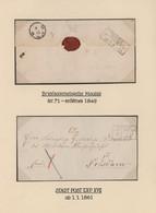 Preußen - Stempel: 1748-1876, Große Und Sehr Detaillierte Sammlung Der Postgeschichte Bzw. Der Stemp - Preussen