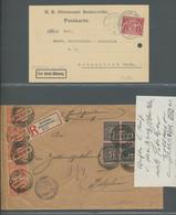 Deutsches Reich - Dienstmarken: 1919-39, Sammlung Von Knapp 30 Briefen Und Karten Mit Einzel-, Mehrf - Dienstpost