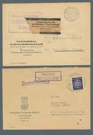 DDR - Dienstmarken: 1954-1980. Partie Von Etwa 180 Belegen Mit U.a. Dienstmarken- Und ZKD-Frankature - Dienstpost
