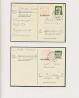 Bundesrepublik - Ganzsachen: 1971/1972. Interessante Kollektion Mit 16 Postkarten: Heinemann 25 Pf, - Ohne Zuordnung