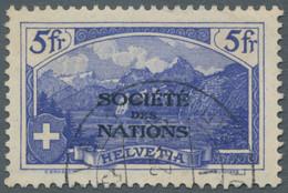 Schweiz - Internationale Organisationen: 1922-1950, Lot Aus Verschiedenen Kompletten, Gestempelten S - Sin Clasificación
