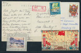 China - Volksrepublik: 1964-1983, Kleine Postfrische Und Gestempelte Partie Auf 2 Stecktafeln Mit U. - Ohne Zuordnung