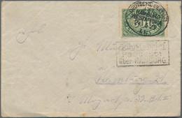 Deutsche Schiffspost - Marine: 1898/1940 (ca.), Vielseitige Partie Von 26 Schiffspost-Briefen Und -K - Ohne Zuordnung