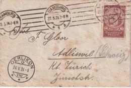 ALLEMAGNE 1924 LETTRE DE HAMBURG - Briefe U. Dokumente
