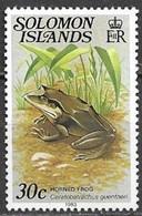 Islas Salomon 1979  SG398A 30c Horned Frog MNH ** - Solomoneilanden (1978-...)