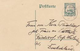 Deutsches Reich Kolonien DOA Postkarte 1911 - Kolonie: Deutsch-Ostafrika