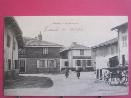 01 - Foissiat - Entrée Du Pays - 1904 - R/verso - Andere Gemeenten