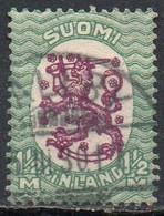 Finlandia, 1927/29 - 1 1,2m Arms Of The Republic - Nr.147 Usato° - Gebraucht