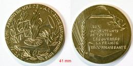 Médaille De Table_FR_Militaria_60e Anniversaire De L'Armistice 11 Novembre 1918_21-14-2 - Frankreich