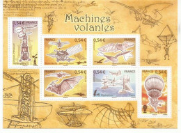 AVIATION. Les Machines Volantes. BF # 103  Neuf **  Au-dessous Val.faciale , Année 2006 - Ungebraucht