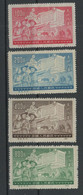 CHINA 1952 Set Of 4 Stamps Mint No Gum As Issued - Ungebraucht