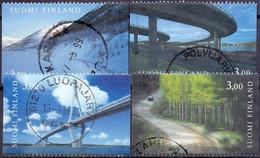 Finland 1999 Wegen GB-USED - Gebraucht