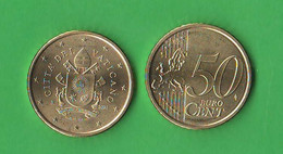 Euro 50 Centesimi 2021 Da 50 Cents 2021 € Vatican Vatikan State Papa Francesco I° - Vatikan