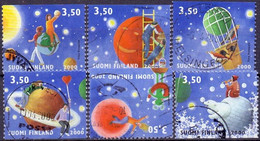 Finland 2000 Vriendschap GB-USED - Gebraucht