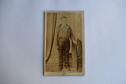 CDV France Toulon Thaust. 1860-1870 Sailor - Oud (voor 1900)