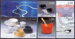 Finland 1998 Finse Ontwerpen GB-USED - Gebraucht