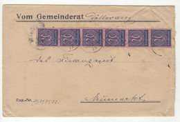 Germany Official Letter Cover Posted 1923 B211015 - Dienstpost
