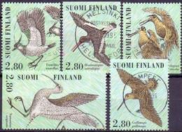 Finland 1996 Kustvogels GB-USED - Gebraucht