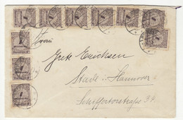 Germany INFLA Letter Cover Posted 1923 B211015 - Briefe U. Dokumente