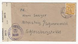Germany Allied Occupation Letter Cover Posted 194? British Censorship B211015 - Gemeinschaftsausgaben