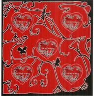 Maison Givenchy (Saint-Valentin - Coeurs) BF # 104. Année 2007. Neuf **.  BF De 5 Timbres ** à Validité Permanente - Ungebraucht