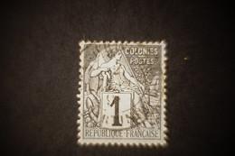 Alphée Dubois N°46 1 Cts Oblitéré Grand ' Riviere Martinique - Alphée Dubois